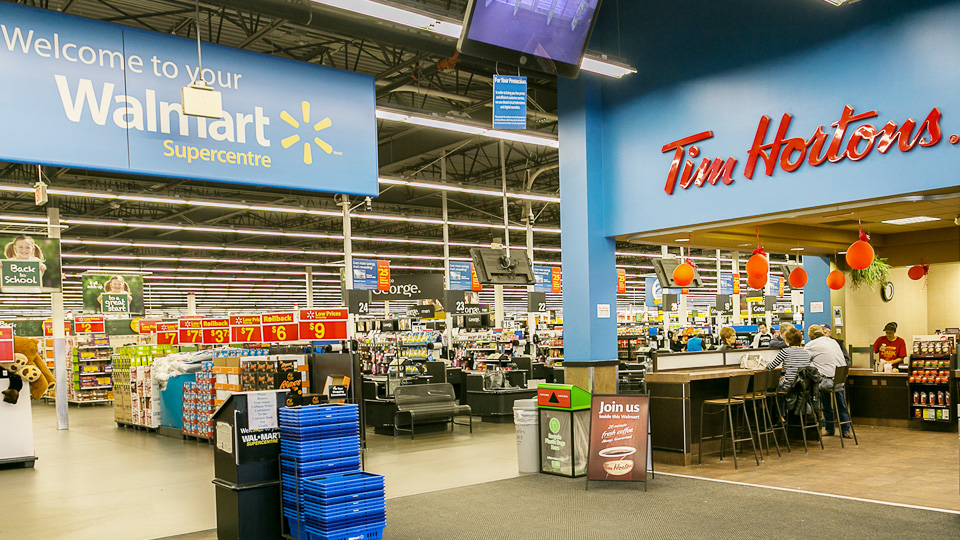 Sand Timers Walmart To Acquire 13 Target Canada